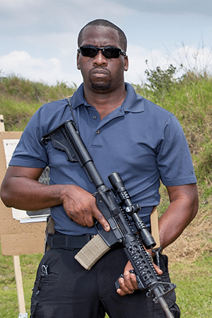Tariek Leith Contract Instructor Defensive Firearms Instruction