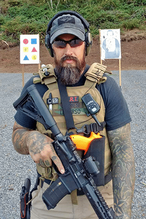 Defensive Firearms Instruction Instuctor Christian Griesi