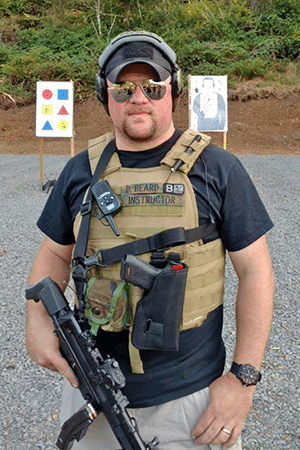 Donovan Beard Defensive Firearms Instruction