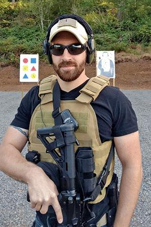 Logan Nichols Instructor For Defensive Firearms Instruction